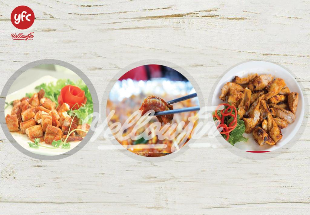 Mua Cá Mút Đá tại YFC Food