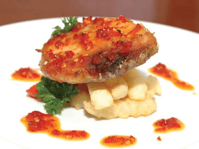 cá ngừ nướng muối ớt yfc