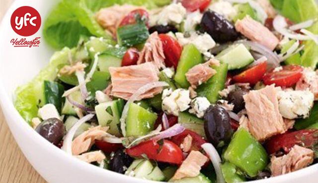 Món salad cá ngừ Nano